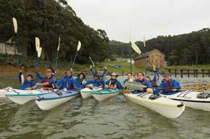 Camp Reynolds kayaks