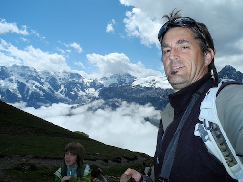 Bay Nature Local Hero Craig Anderson in the Swiss Alps